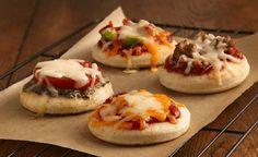 Mini pizza facile et rapide - Recettes de cuisine faciles et simples | Recettee