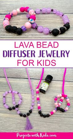 Kids Create Childrens Make Your Own Jewellery Bead /& Pin Jewellery TWO SETS