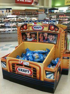 POS - Dumpbin Blitz Truck