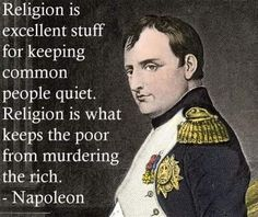 """Repulsicans"" want to impose a religion (that is ruled by fear and obedience) into the laws of our nation and into the lives of our people. Ever wonder why?"
