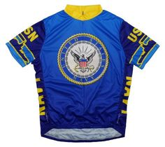 f446667de Primal Wear Mens US Navy Military Short Sleeve Cycling Jersey USN6JER M    Check this awesome product by going to the link at the image.