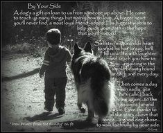 So very true - all three of my dogs are a gift from heaven - each in their own special way.  They have taught me a lot about love, patience, and how to appreciate little things in life......
