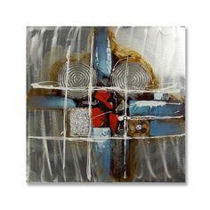 Obraz olejny na aluminium ArteHome Gemini | sklep PrezentBox - akcesoria, zegary ścienne, prezenty