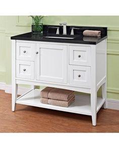 Amish 49 Lancaster Mission Single Bathroom Vanity Cabinet