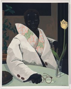 Né à Birmingham (Alabama) l'artiste peintre Kerry James Marshall a été élevé à Los Angeles près du quartier.