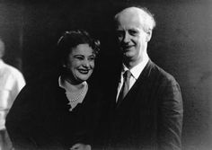 1950: Wilhelm Furtwängler, shown here with Ljuba Welitsch (Donna Anna), produced a high point of the Festival with his Don Giovanni.