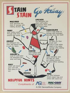 Stain be gone