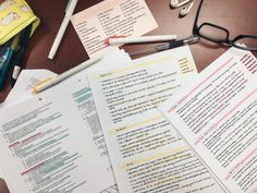 I love the whole color schemes for the notes.