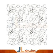 Quilting Stitch Patterns, Stitching Patterns, Quilt Stitching, Longarm Quilting, Free Motion Quilting, Quilt Patterns, Machine Embroidery Quilts, Machine Quilting Designs, Embroidery Files