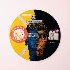 Selva de Pedra | colagem sobre vinil por pedroluiss #art #collage #vinyl