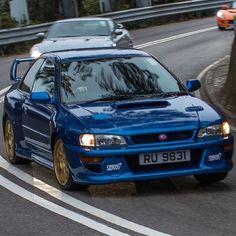 Rare Subaru WRX STI 22B