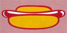 Hot dog - Roy Lichtenstein 1964