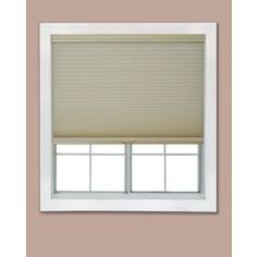 Redi Shade 21.25-In W X 72-In L Khaki Light Filtering Cellular Shade Z