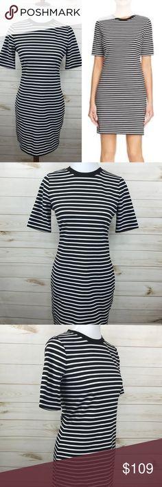 Michael Kors Sheath Striped Dress NWT - Never Worn - Great Condition - Michael Kors Sheath Striped Dress - So Cute! Michael Kors Dresses