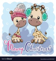Find Cute winter illustration Giraffes Boy and Girl in hats stock vectors and royalty free photos in HD. Explore millions of stock photos, images, illustrations, and vectors in the Shutterstock creative collection. Cartoon Fish, Owl Cartoon, Cute Cartoon, Cute Images, Cute Pictures, Girl With Hat, Boy Or Girl, Baby Shower Greeting Cards, Cute Little Baby Girl