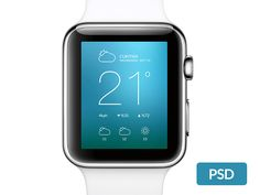 Apple Watch – Free PSD mockup