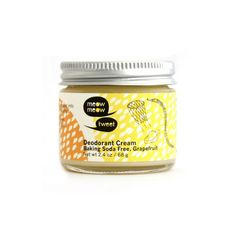 Meow Meow Tweet Natural Products - Baking Soda Free Deodorant Cream