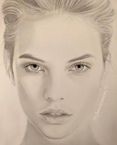 "@francescomaria71 on Instagram: """"Barbara"" (Graphite powder in progress) #barbarapalvin #portrait #love #beautiful #art #illustration #drawing #draw #picture #artist #sketch #pencil #artsy #ladyterezie #BOUCHAC #instaart #creative #_talent #photooftheday #instaartist #artoftheday #pictureoftheday #picoftheday #artrealistic #WorldofArtists #Art_Worldly #topmodel #cute #bestoftheday #theartlovers @realbarbarapalvin"""