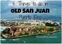 On a beach trip? Looking for things to do with kids in San Juan Puerto Rico?  Here are 5 family travel ideas ...