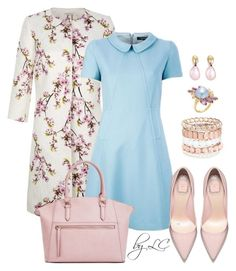 fresh spring by explorer-14541556185 on Polyvore featuring Kaliko, JustFab, Avenue, Bounkit and Monies
