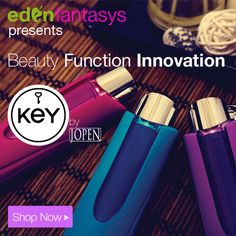 Unlock Your Passion with Key, by Jopen. Now at EdenFantasys.com!