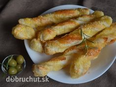 Fotorecept: Syrové tyčinky Four, Fresh Rolls, Shrimp, Sausage, Food And Drink, Appetizers, Bread, Snacks, Meals