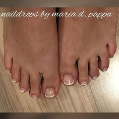 #frenchpedicure #classicnails