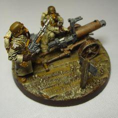 19th Krieg Maxim Mk19/10 Heavy-Bolter Team.
