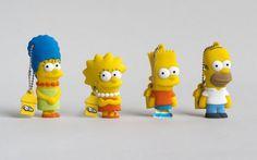 Memorias USB de Los Simpson
