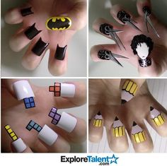 Crazy nails who does this?