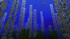 Kelp, now animated! Though not in this image. for Minecraft Minecraft 1, Packing, Animation, Texture, Image, Design, Art, Bag Packaging, Surface Finish