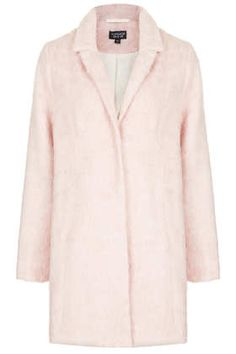 Loving the vintage type coat trend. This pink overcoat is from TopShop and quite affordable.