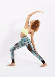 From printed reversible yoga leggings to high-stretch yoga bras, find activewear you will want to wear all season long.