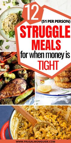 These budget friendly recipes are a must for anyone on a tight budget! They are easy, healthy and delicious. Saving money is easy with these frugal meals! Cheap Family Meals, Cheap Easy Meals, Dinner Recipes Easy Quick, Inexpensive Meals, Frugal Meals, Quick Easy Meals, Cheap College Meals, Cheap Easy Healthy Meals, Cheap Student Meals