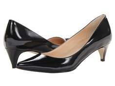 Cole Haan Air Juliana Pump 45 Black Patent - Zappos.com Free Shipping BOTH Ways