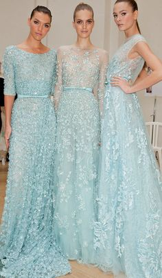 Bridesmaids would be my something blue... pretty creative. not a pale blue but richer darker shade