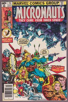 THE MICRONAUTS #15 comic book 1979 Marvel Comics