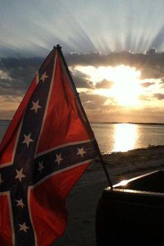 Beach, friends, music, rebel flag..... Gotta be the good life!