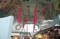 En el interior del Mercado de Rotterdam 1 - http://diarioviajero.es/tienda/en-el-interior-del-mercado-de-rotterdam-1/