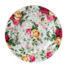 Royal Albert Country Rose 20cm Chintz Plate - Royal Doulton® Official Site - UK