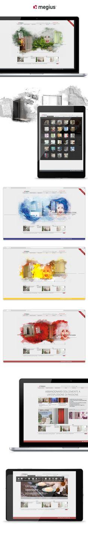Sito web Megius creato da effADV - Megius #website, created by effADV - #webdesign #graphicdesign #weblayout #web #graphic