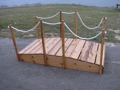 Bridge my husband built for Cross Over Ceremony and Blue and Gold Banquet Cub Scouts, Girl Scouts, Red White Blue, Blue Gold, Wood Projects, Woodworking Projects, Cub Scout Activities, American Heritage Girls, Shared Folder