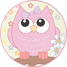 MAKE YOUR OWN CUTE DECORATION - Flower Owls