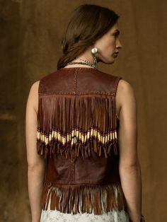 Hairpipe Leather Vest - Denim & Supply  Jackets & Outerwear - RalphLauren.com