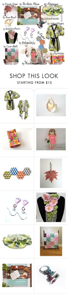"""Happy Tuesday Etsy Friends"" by belladonnasjoy ❤ liked on Polyvore featuring Hostess, Bambola, Wild Rose, BMW, modern and rustic"
