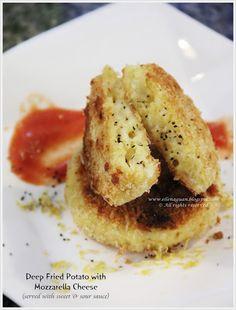Perfect Italiano Masterclass by Chef Lino Sauro  ~ Deep Fried Potato with Mozzarella Cheese