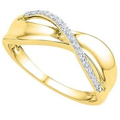 .06 Carat Brilliant Round Diamond Ring Wedding Band