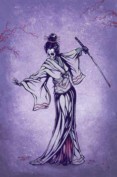 Rise of the Geisha by David Lozeau