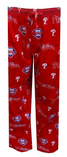Philadelphia Phillies Logo Collection Lounge Pants Just what every Phillies fan needs to lounge out on the couch and watch the ...