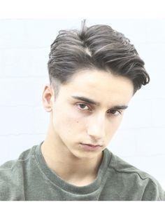 Stylish Boy Haircuts, Haircuts For Long Hair, Hairstyles Haircuts, Haircuts For Men, Asian Haircut, Asian Men Hairstyle, Fade Haircut, Wavy Hair Men, Curly Hair Cuts